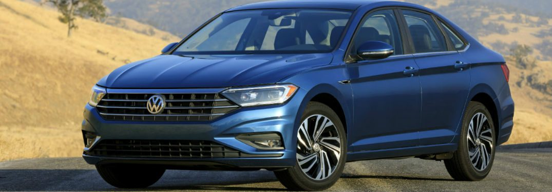 2019 Volkswagen Jetta in blue