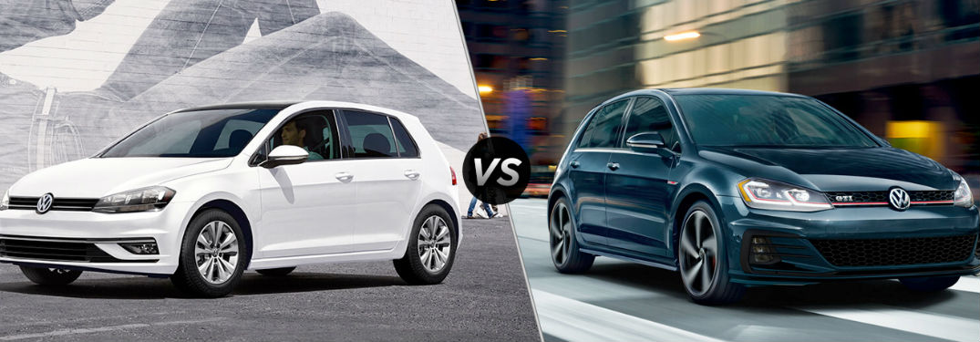 How do the Golf and Golf GTI compare?