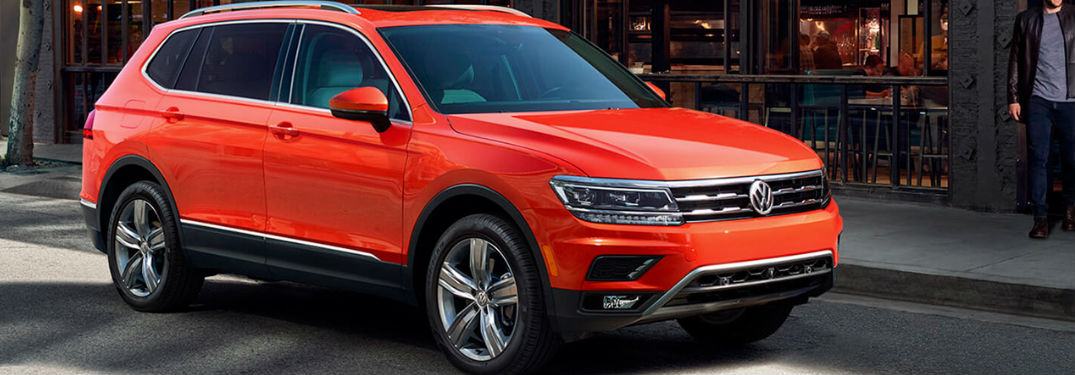 2019 Volkswagen Tiguan in orange