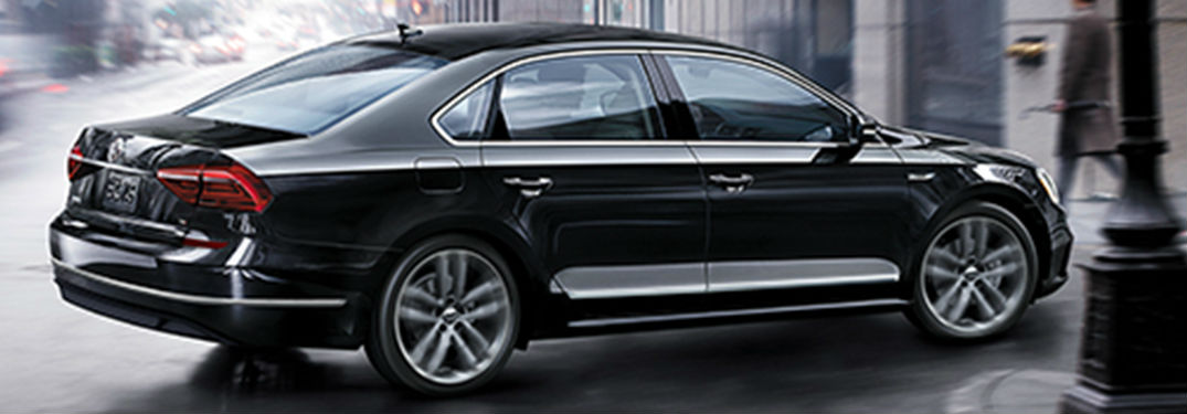 What colors are on the new Passat?