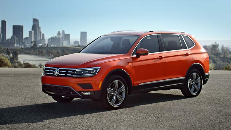 Vw Tiguan And Touareg Towing Capacities