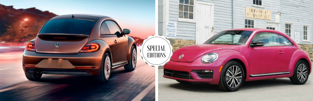 2017 VW Beetle Special Editions