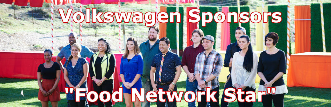 Volkswagen sponsors Food Network Star