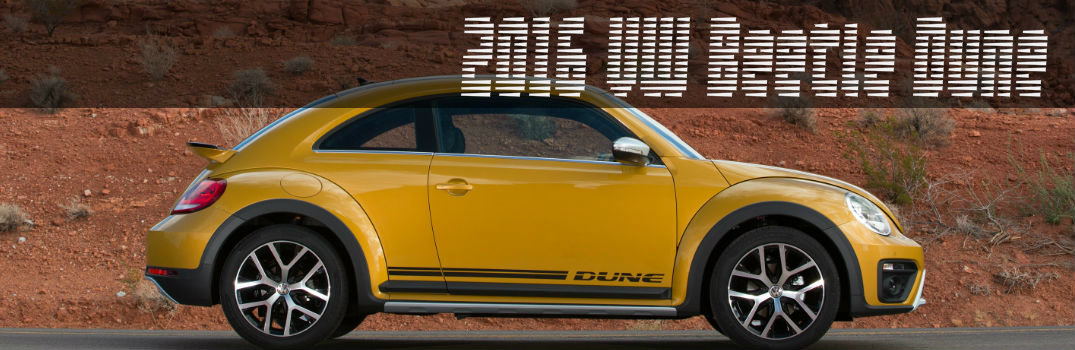 2016 Beetle Dune color options