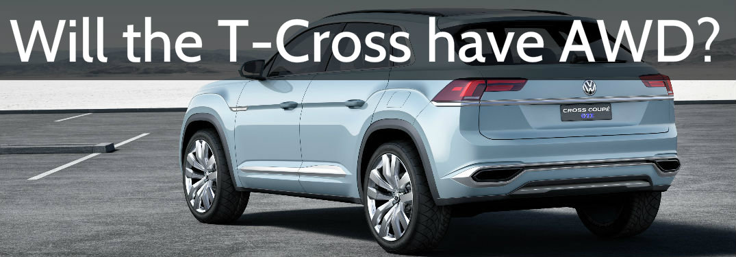 Will the Volkswagen T-Cross have all-wheel drive