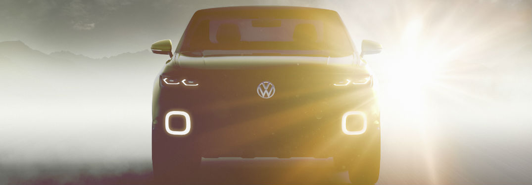 Volkswagen reveals surprise concept SUV at Geneva auto show