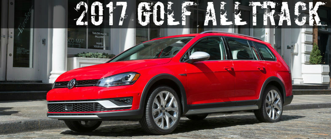 Differences Between the 2017 Golf Alltrack and the Golf SportWagen