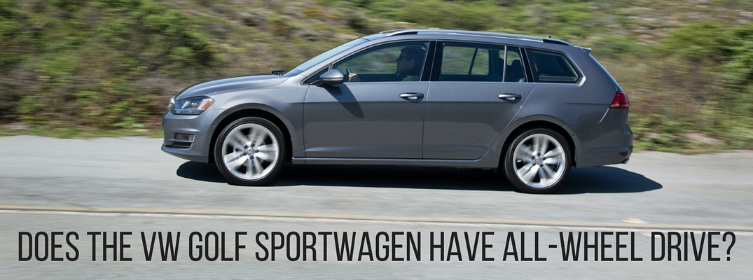 Does the VW Golf SportWagen have all-wheel drive