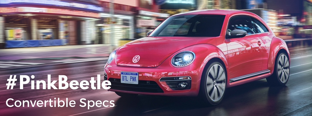 Is the 2017 Volkswagen #PinkBeetle a convertible