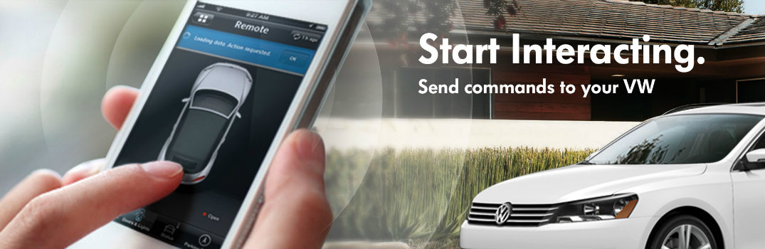 Volkswagen Car-Net Start Interacting