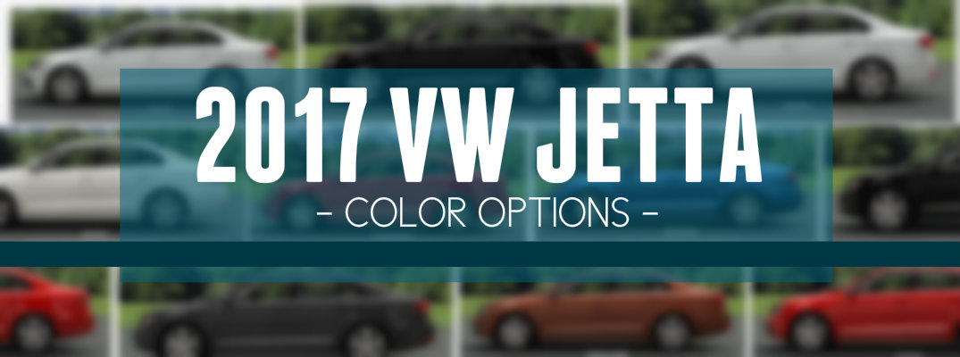 What colors are available for the 2017 Volkswagen Jetta?