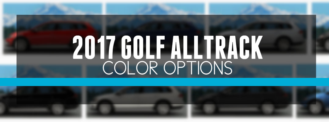 2017 Volkswagen Golf Alltrack Interior Color Options