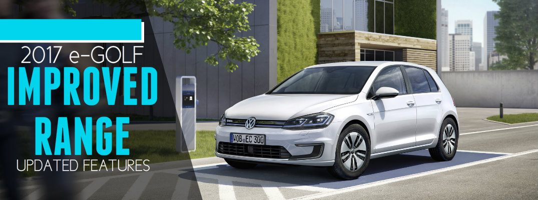 2017 Volkswagen e-Golf Range and Performance