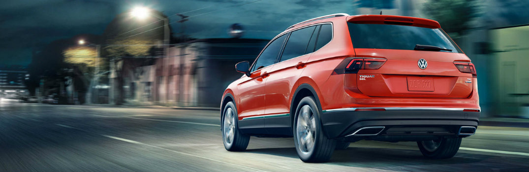 What Colors Does the 2018 Volkswagen Tiguan Come In?