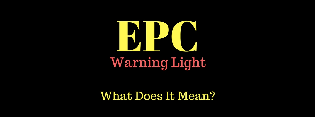What is the EPC Warning Light on my Volkswagen Dashboard?