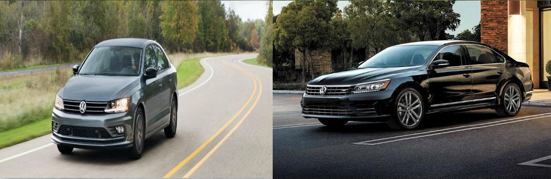 2018 Volkswagen Jetta and 2018 Volkswagen Passat