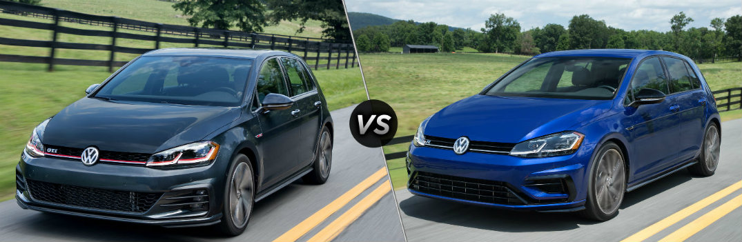 What is the Difference Between the 2018 VW Golf GTI and Golf R?