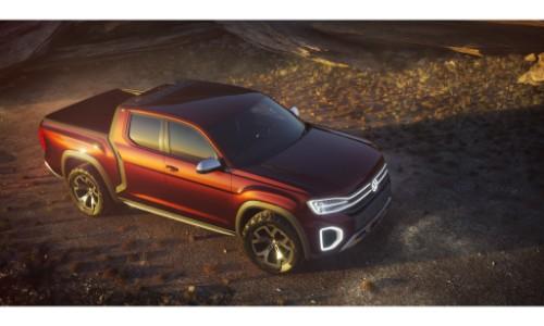Vw Atlas Tanoak Pickup Truck Debut At New York International Auto Show