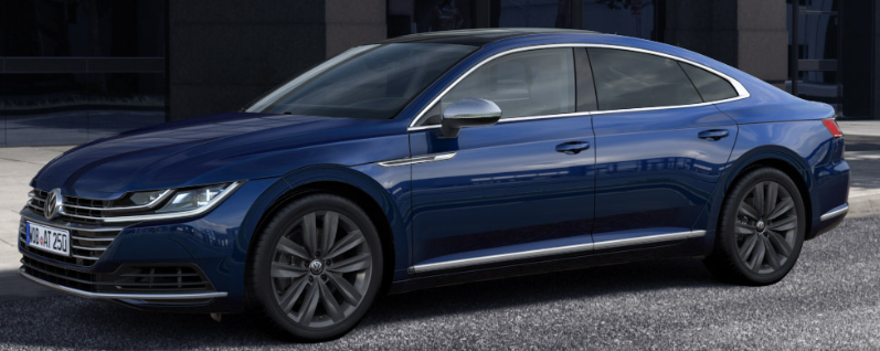 2019 Volkswagen Arteon Atlantic Blue Metallic O J