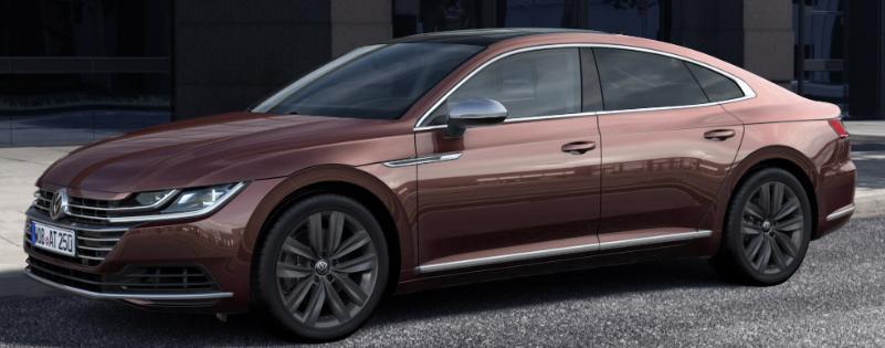 2019 Volkswagen Arteon Paint Color Options