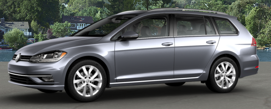 2018 Volkswagen Golf SportWagen Platinum Gray Metallic
