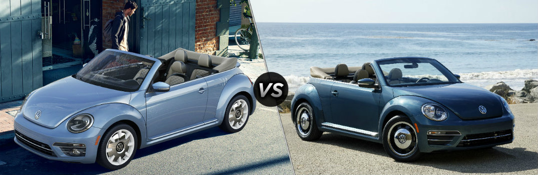 2019 Volkswagen Beetle Final Edition vs 2018 Volkswagen Beetle