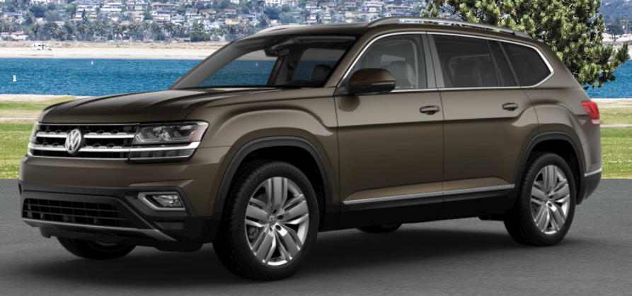 2019 Volkswagen Atlas Color Options