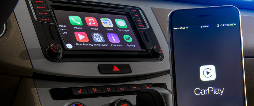 apple carplay  vw beetle