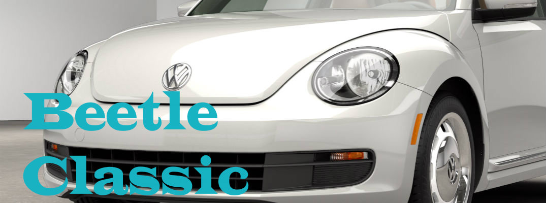 2015 Volkswagen Beetle Classic Trim Features and Specs