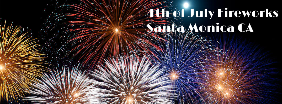2015 4th of July Fireworks Santa Monica CA