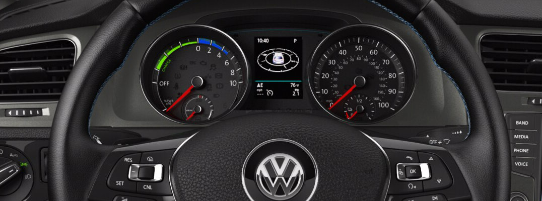 Volkswagen e-Golf Power Availability Display Gauge Explained