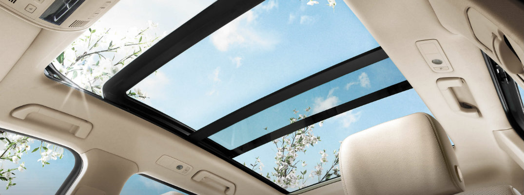 A Volkswagen Panoramic Sunroof Provides the Benefit of Sunlight and Fresh Air to Both Drivers and Back-Seat Passengers