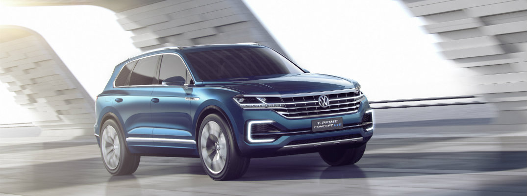 VW Plug-In Hybrid T-Prime Concept at 2016 Beijing Auto Show