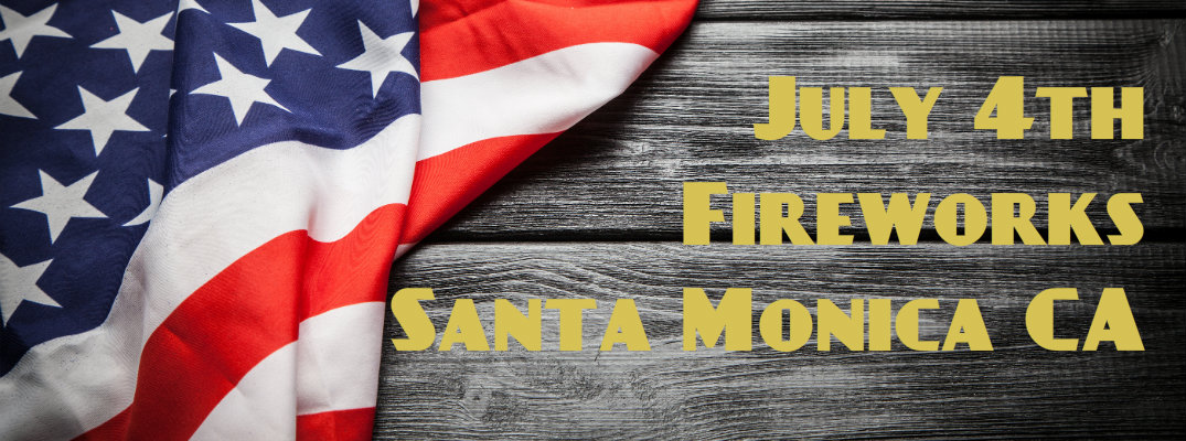 2016 4th of July Fireworks and Parade Santa Monica CA