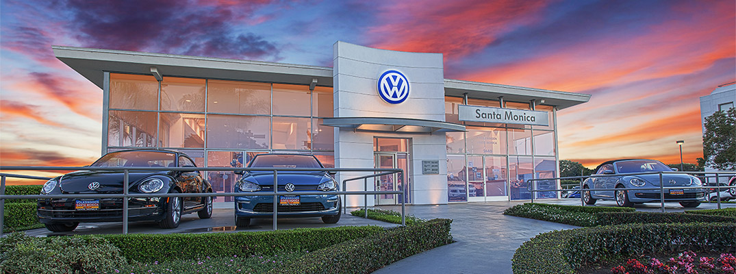 Volkswagen Santa Monica at Sunset