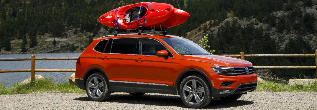 What is the cargo capacity of the 2018 Volkswagen Tiguan?
