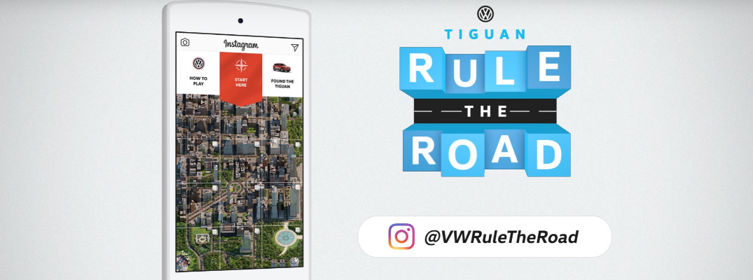 "2018 VW Tiguan and Instagram ""VW Rule of the Road"" Scavenger Hunt"