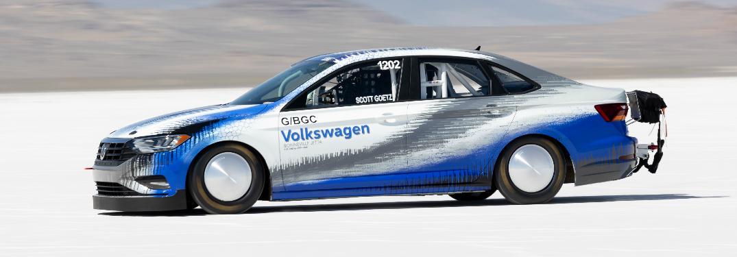2019 VW Bonneville Jetta Racing at the Bonneville Salt Flats
