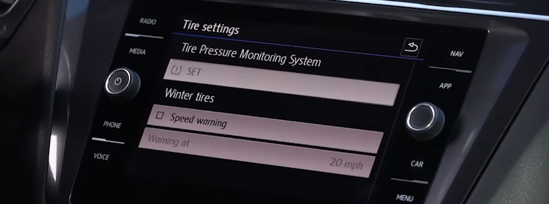 How to Use the Volkswagen Tire Pressure Monitoring System