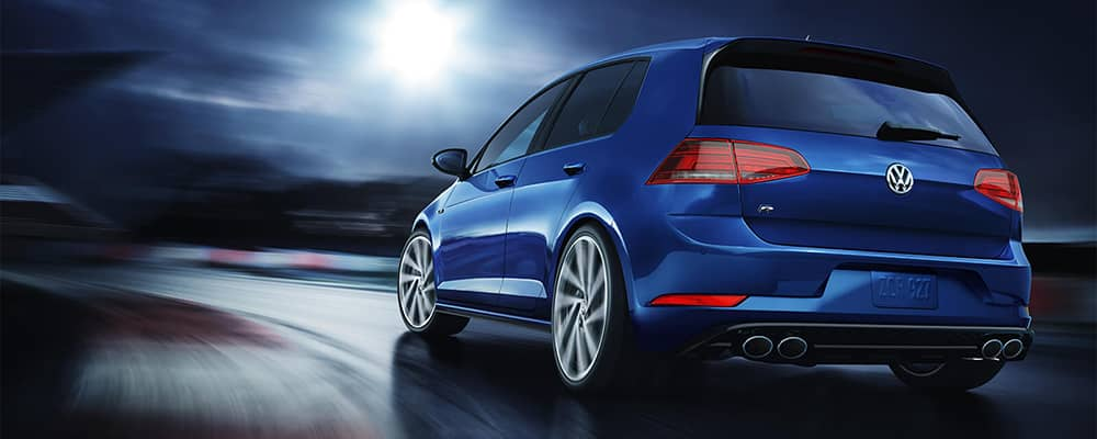 2019 VW Golf R Rear