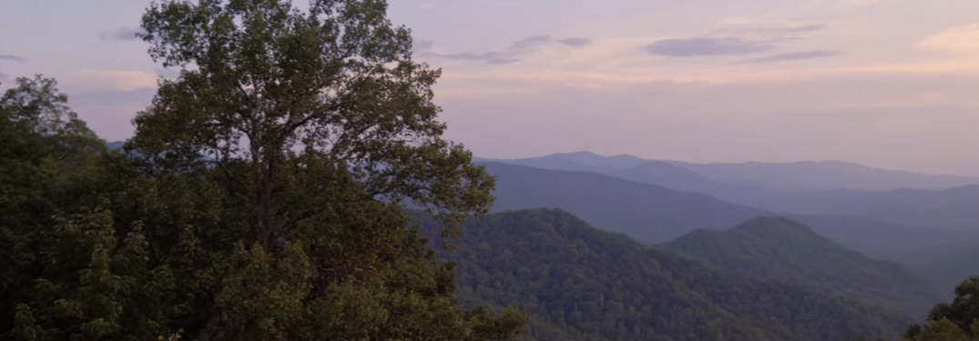 Panoramic view of the Cherokee National Forest