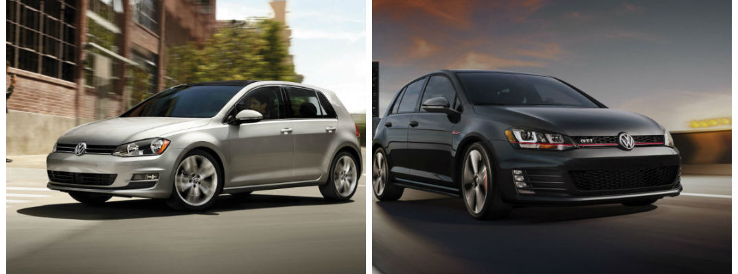 Differences Between Volkswagen Golf and Golf GTI Golf vs Golf GTI