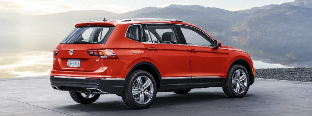 2018 Volkswagen Tiguan revealed at the 2017 NAIAS