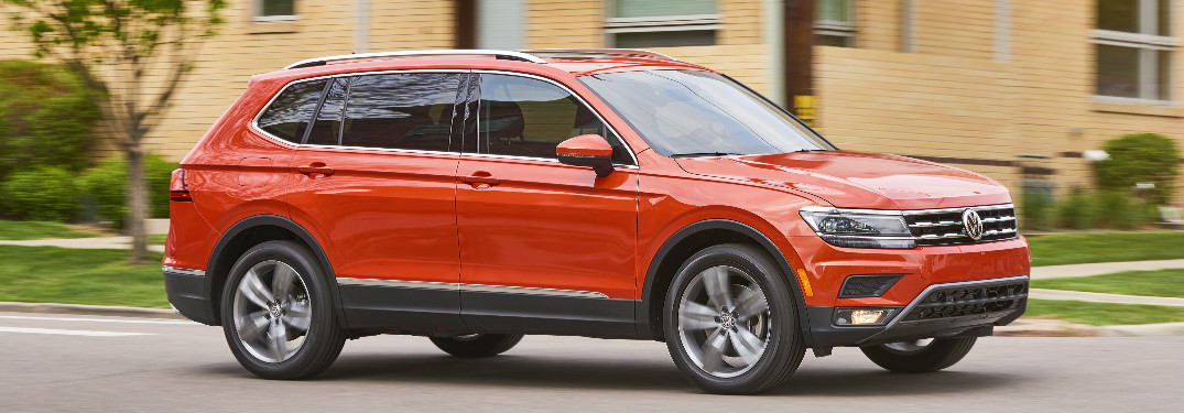 What are the trims and pricing of 2018 Volkswagen Tiguan?