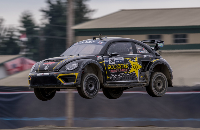 Tanner Foust Vw >> Meet Grc Drivers Scott Speed And Tanner Foust At Pacific