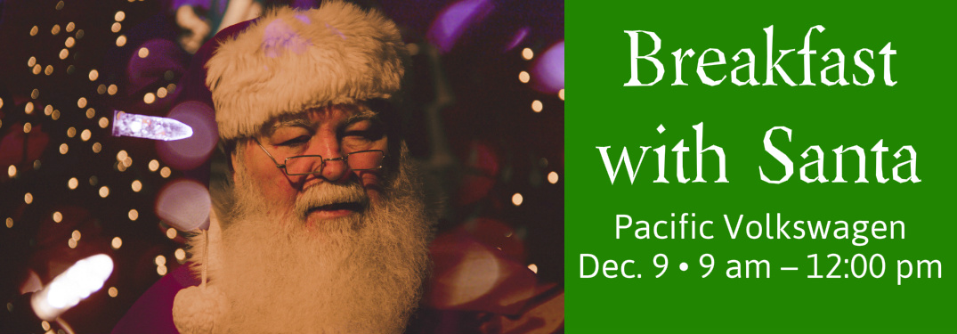 Breakfast with Santa at Pacific Volkswagen Title and Santa Claus
