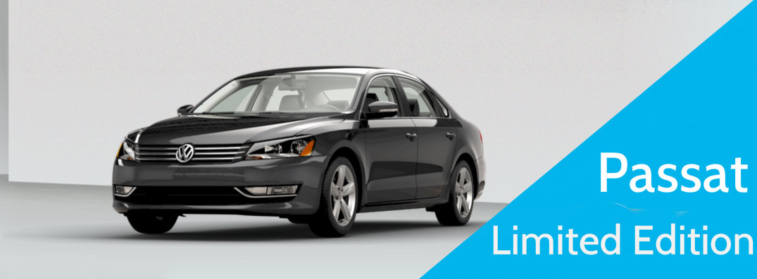 What is Standard on the 2015 VW Passat Limited Edition