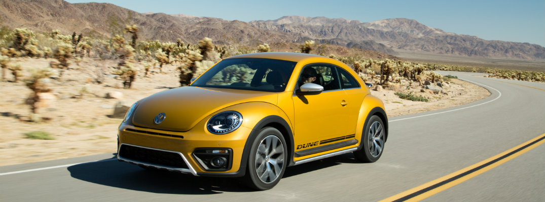 2016 Volkswagen Beetle Dune Dealership Arrival Date