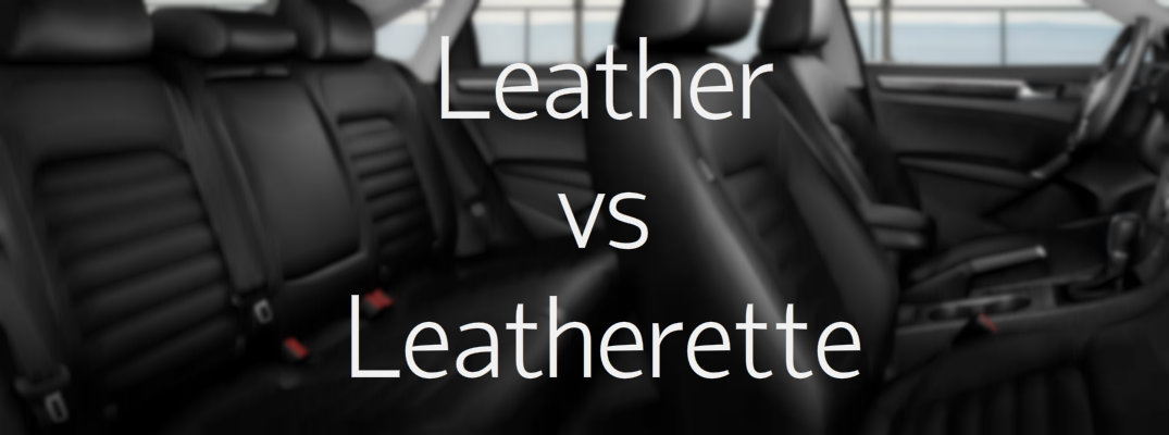 leather vs leatherette car seats