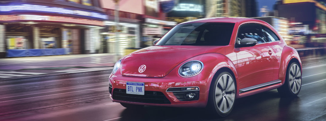 New Volkswagen #PinkBeetle Coming for the 2017 Model Year